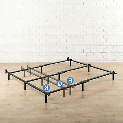 """Adjustable Metal Bed Frame 7"""" For Box Spring Mattress Twin F"""