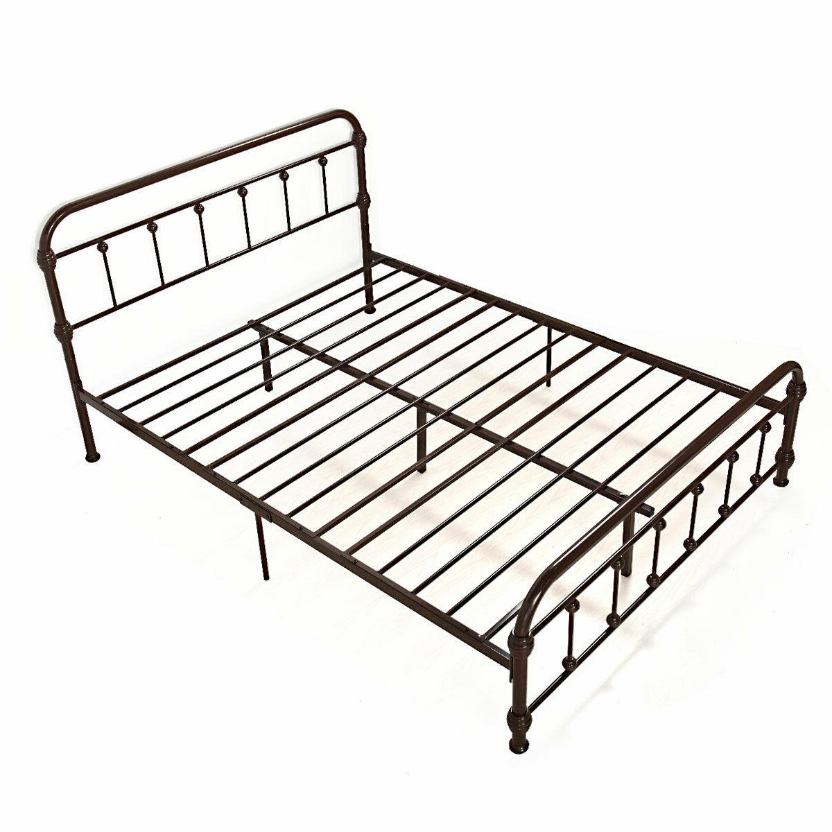 Heavy Duty Bed Platform Bedroom Bed