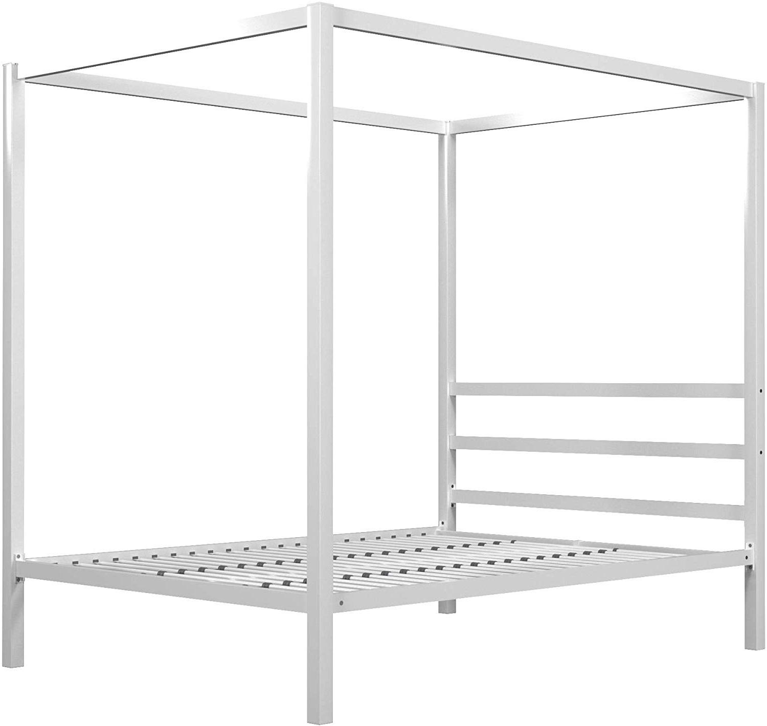 DHP Modern Canopy with Built-in Headboard, Design,