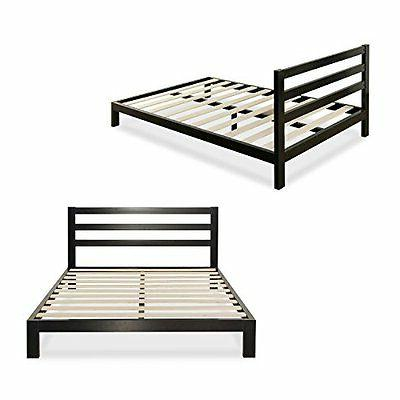 modern studio platform metal bed