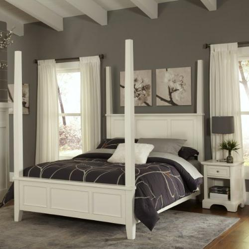 Naples Four Poster 2 Piece Bedroom Collection - Size: Queen