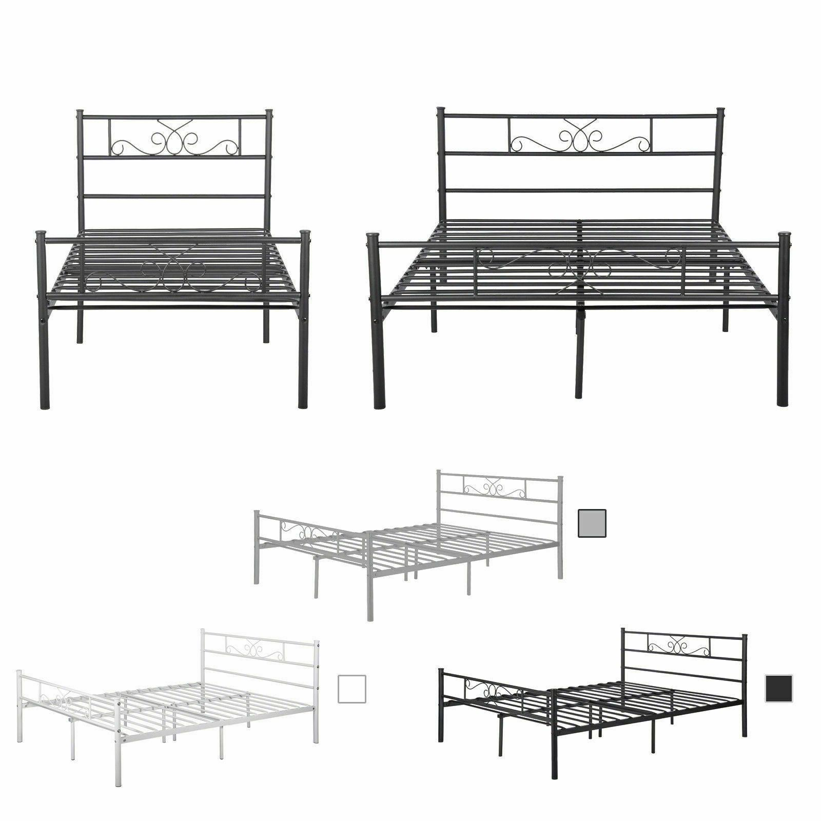Platform Bed Frame Twin Bed