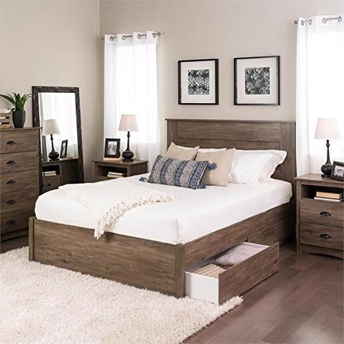 Queen Select Bed 2 Drifted