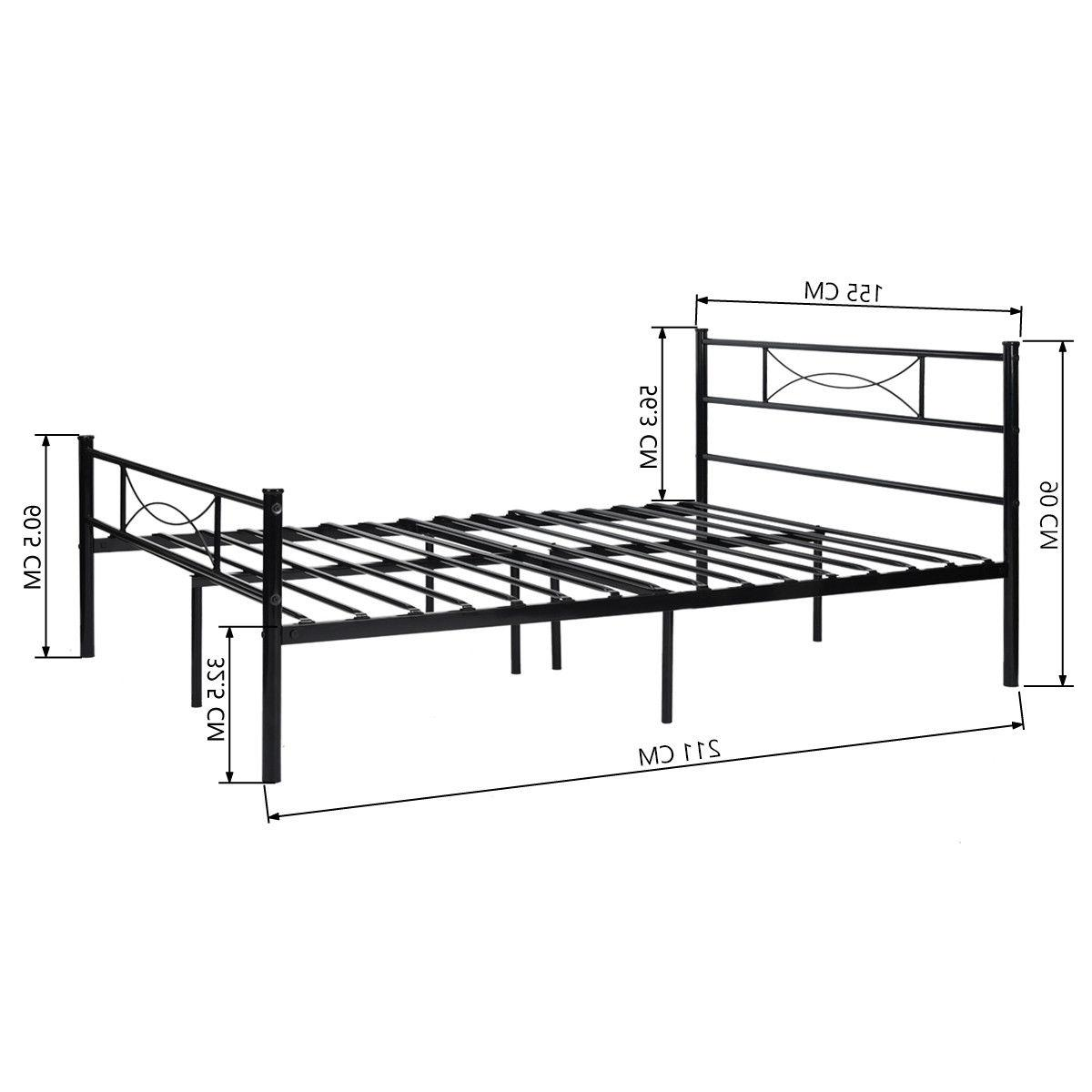 Queen Frame Foundation with Headboard