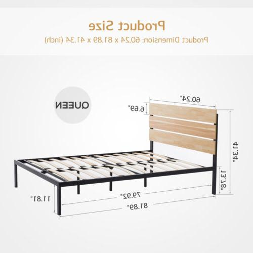 Queen Bed Slats Bedroom Furniture
