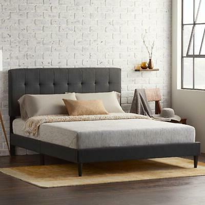 Queen Upholstered Tufted