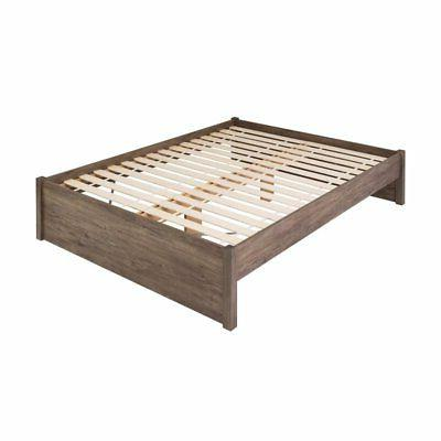 select queen 4 post platform bed in