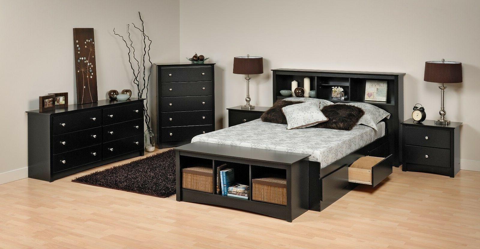 sonoma platform storage bed dresser chest nightstand