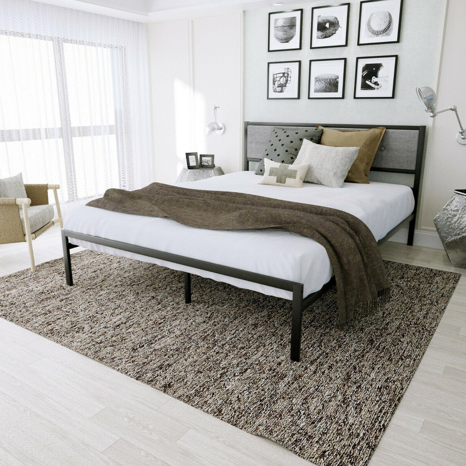 Twin/Full/Queen platform With Modern Upholstery