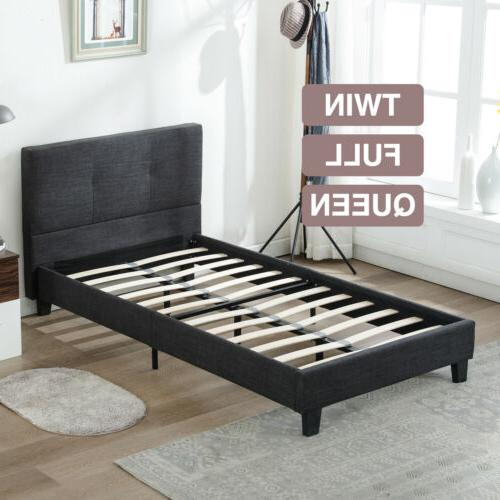 Twin Full Queen Size Bed Frame Platform