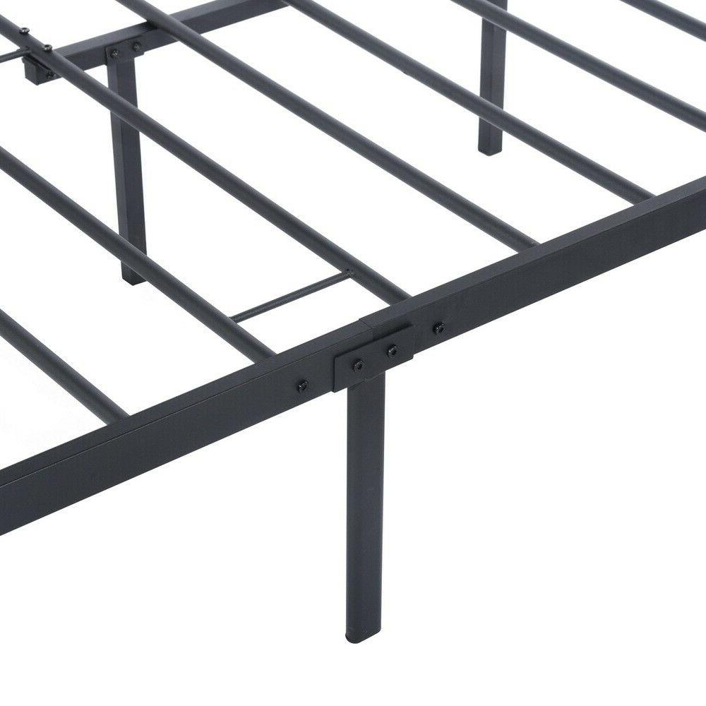 Twin/Full Size Bed Frame Metal Bed with