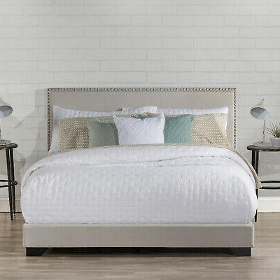 Upholstered Platform Bed Size & Frame Mattress