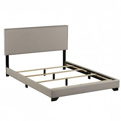 Upholstered Platform Bed Size & Mattress