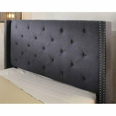 Furniture America Upholstered Wingback in