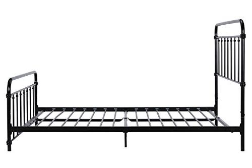 DHP Wallace Frame in with No Sturdy Frame Slats, lbs, Queen Size