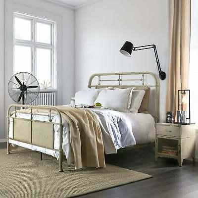 ways industrial metal unisex youth bed
