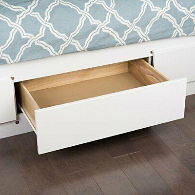 Mate's Storage with Drawers, White