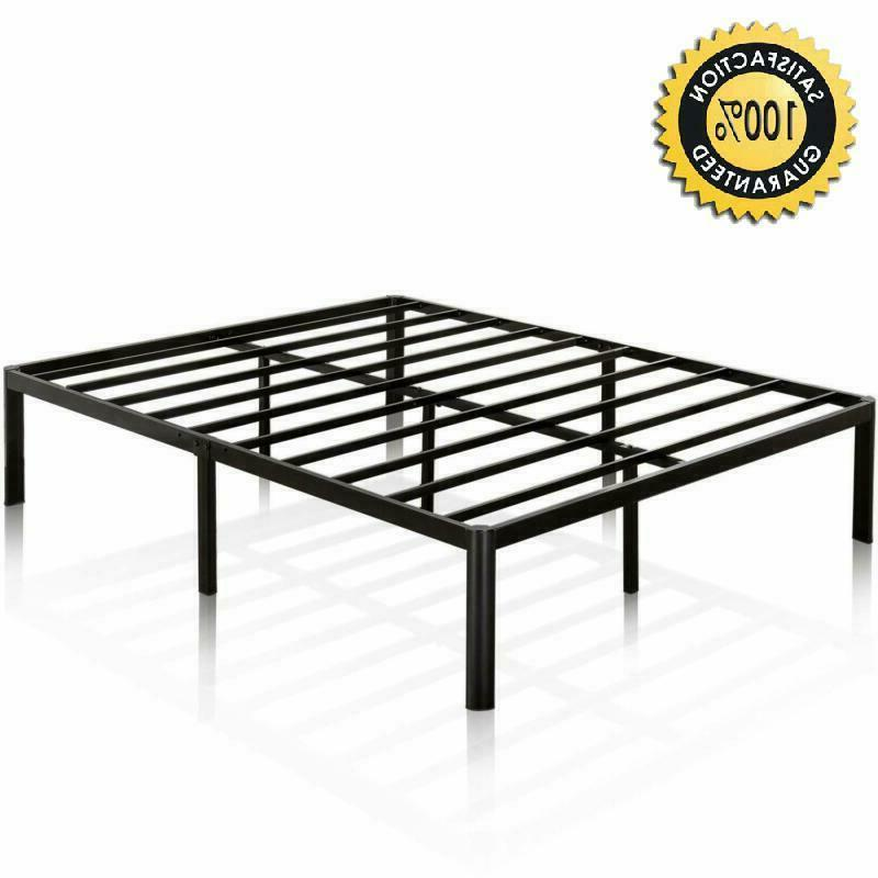 Zinus Van 16 Inch Metal Platform Bed Frame With Steel Slat S