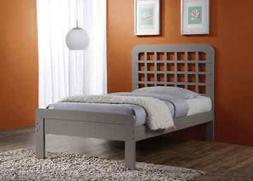 ACME Furniture Lyford Queen Bed in Gray
