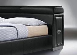 ACME Furniture Manjot 20750Q Queen Bed with 2 Built-In Night