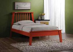 ACME Furniture Marlton Queen Bed in Orange