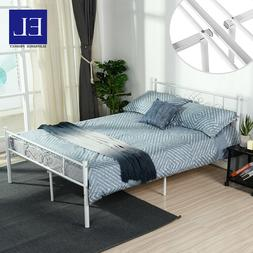 Metal Bed Frame Queen Size Platform Mattress Foundation with