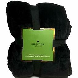 Midnight Bed Blankets Black Full/Queen Plush Micromink Home