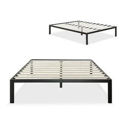 Modern Studio Platform 1500 Metal Bed Frame/Mattress Foundat