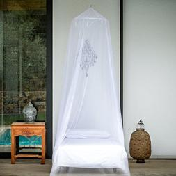 EVEN Naturals Mosquito NET for Bed, Single, Twin to Queen Si