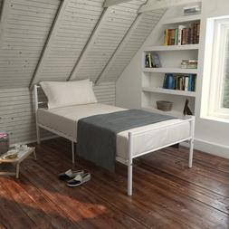 Nordic style Queen Size Metal Steel <font><b>Bed</b></font>