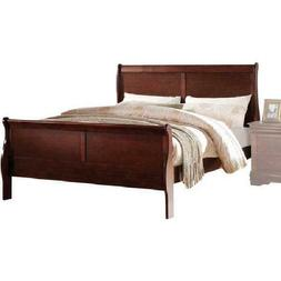 panel bed frame queen size footboard headboard