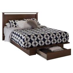 South Shore Primo Full/Queen Platform Bed with Drawer