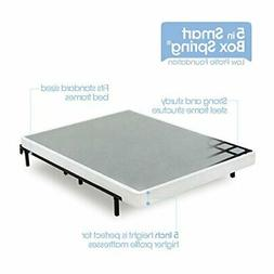 Zinus 5 Inch Low Profile Smart Box Spring, Twin