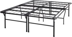 Best Price Mattress Queen Bed Frame - 18 Inch Metal Platform