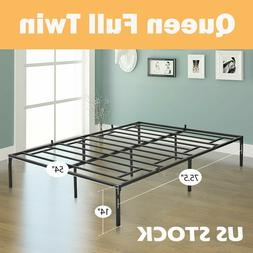 Queen Full Twin Size Bed Frame Heavy Duty Mattress Platform