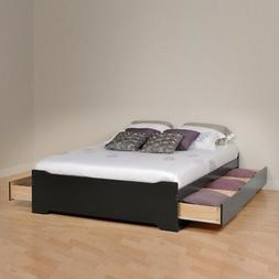 Prepac Queen Platform Storage Bed - BBQ-6200-3KV