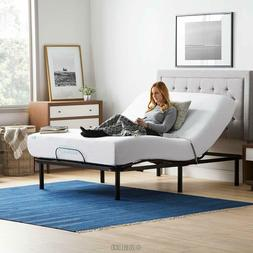Queen Sized LUCID Adjustable Bed Base Steel Frame 5 Minute A