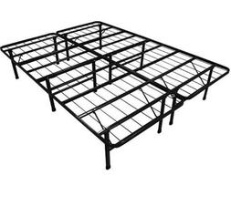 SKB family Queen-size Steel Folding Metal Platform Bed Frame
