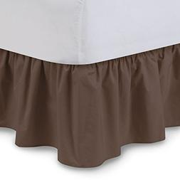 Shop Bedding Ruffled Bed Skirt  14 Inch Drop Dust Ruffle wit