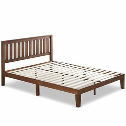 Zinus 12 Inch Wood Platform Bed with Headboard/No Box Spring