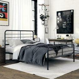 DHP Sonnet Metal Bed with Headboard and Base
