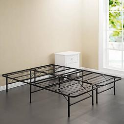 Spa Sensations Steel Smart Base Bed Frame Black, Multiple Si