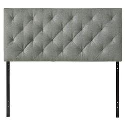Modway Theodore Tufted Faux Leather Queen Size Headboard in