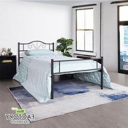 Twin Full Queen Size Metal Bed Frame Platform Headboard Foun