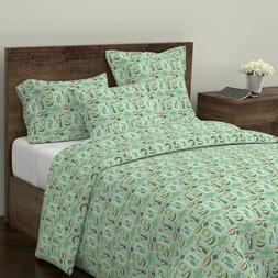 Vintage Kitchen Mid Century Modern Kitchen Home Sateen Duvet